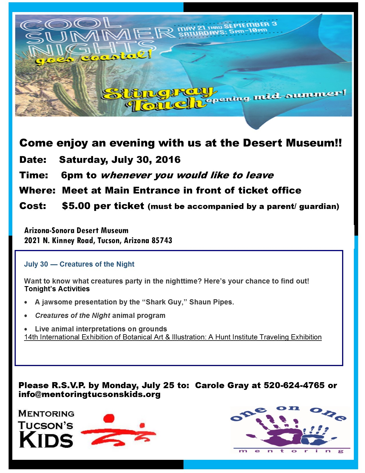 Desert Museum 2016