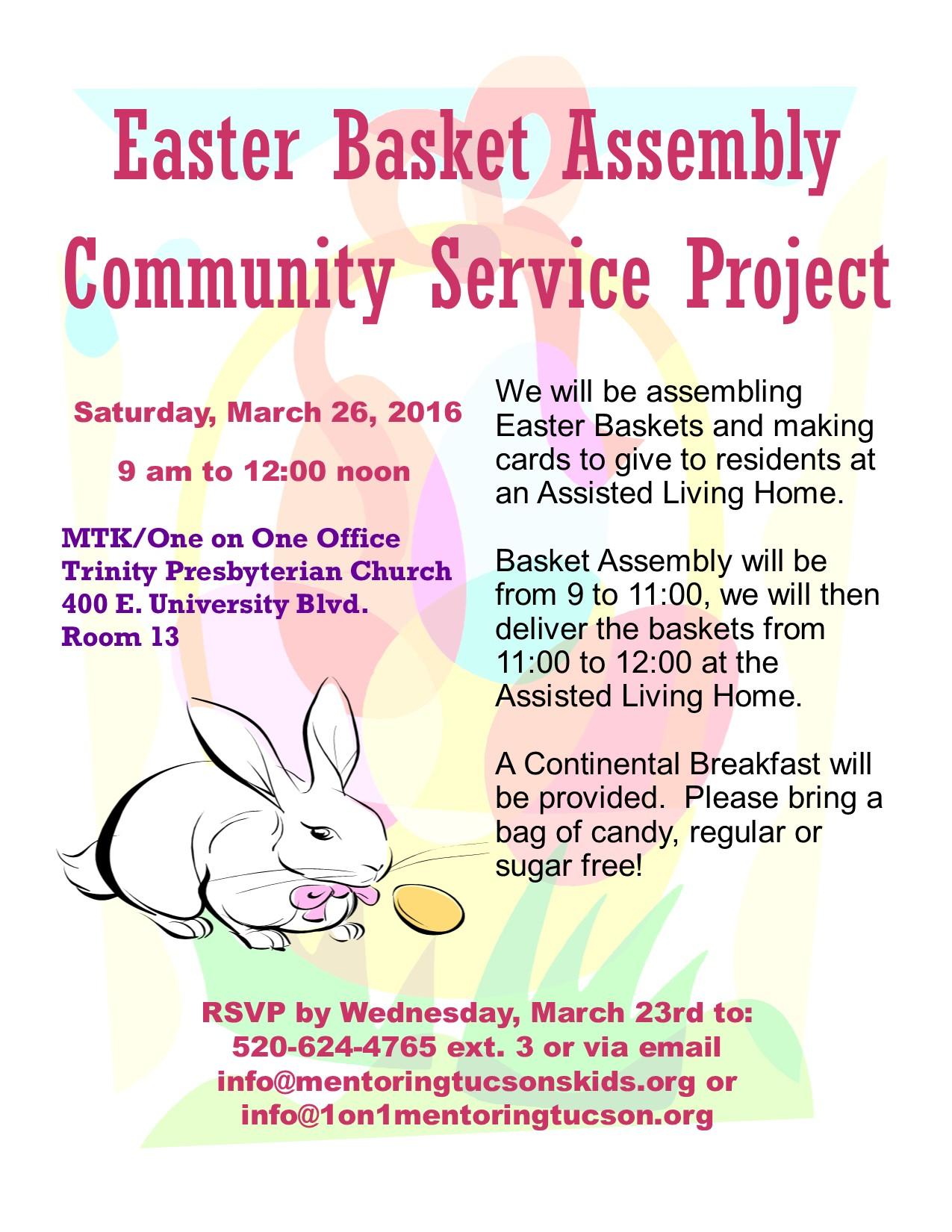 Easter Basket Flyer 2016