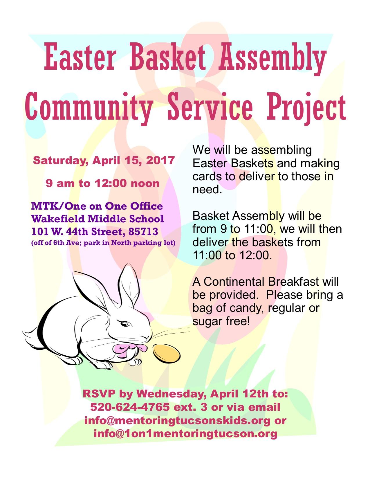 Easter Basket Flyer 2017