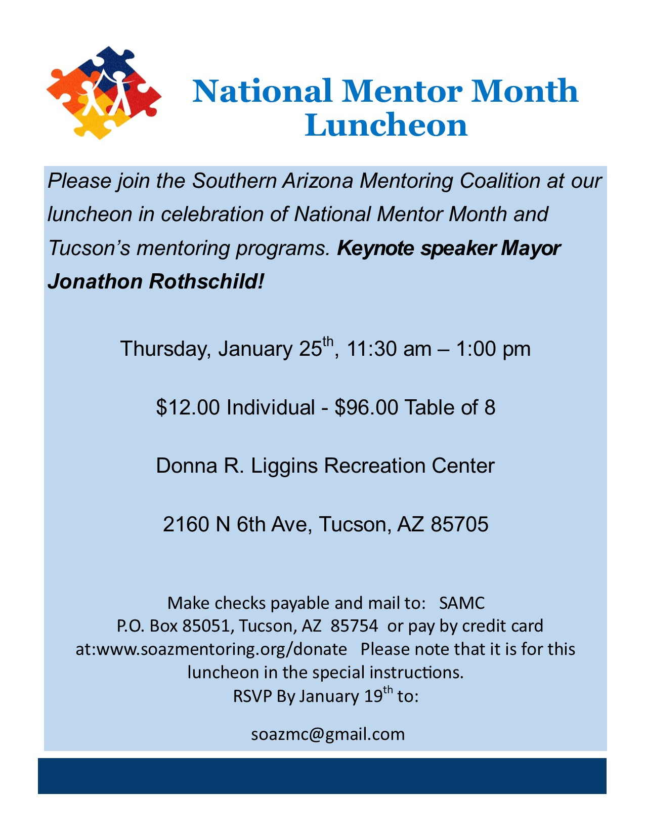 National Mentor Month Luncheon