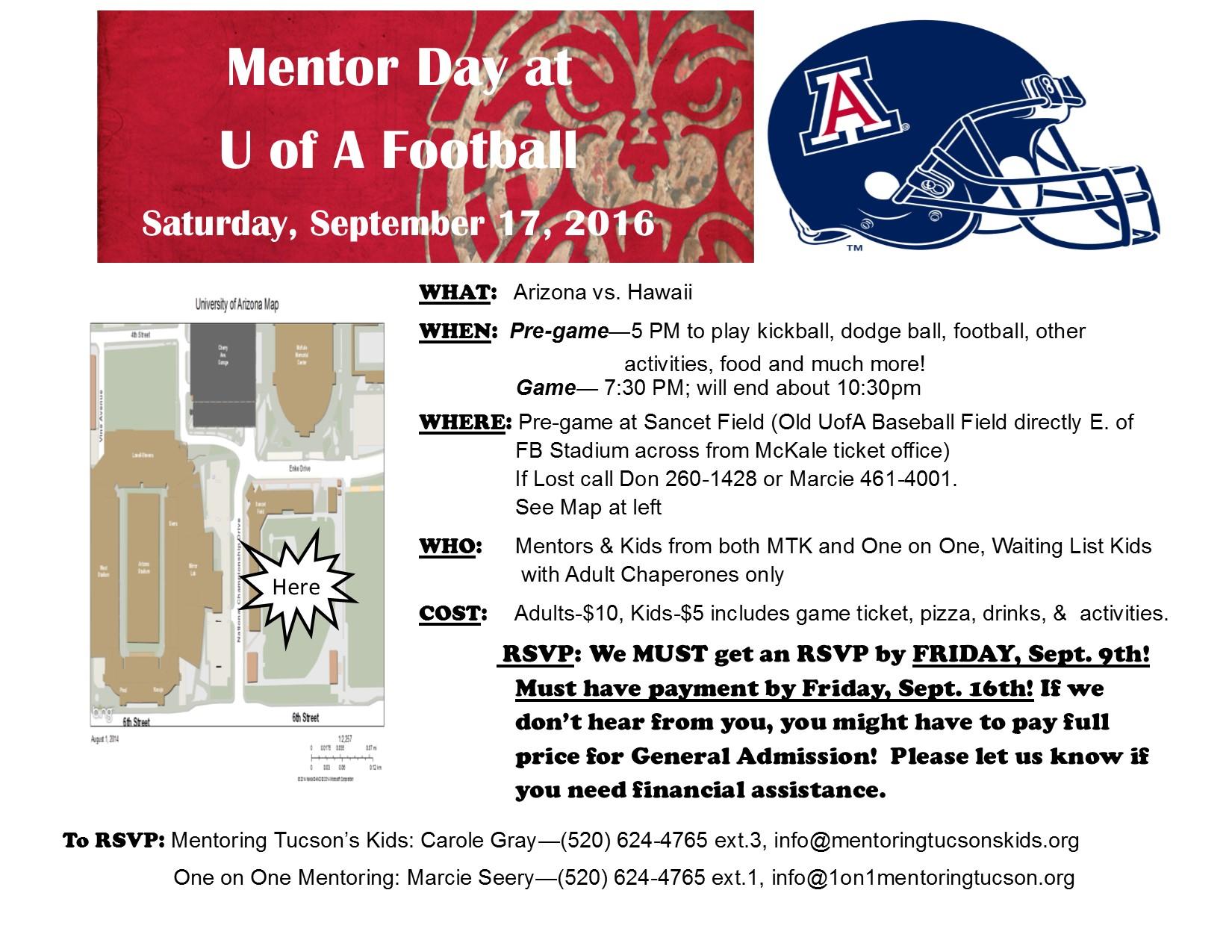 mentor day football 2016