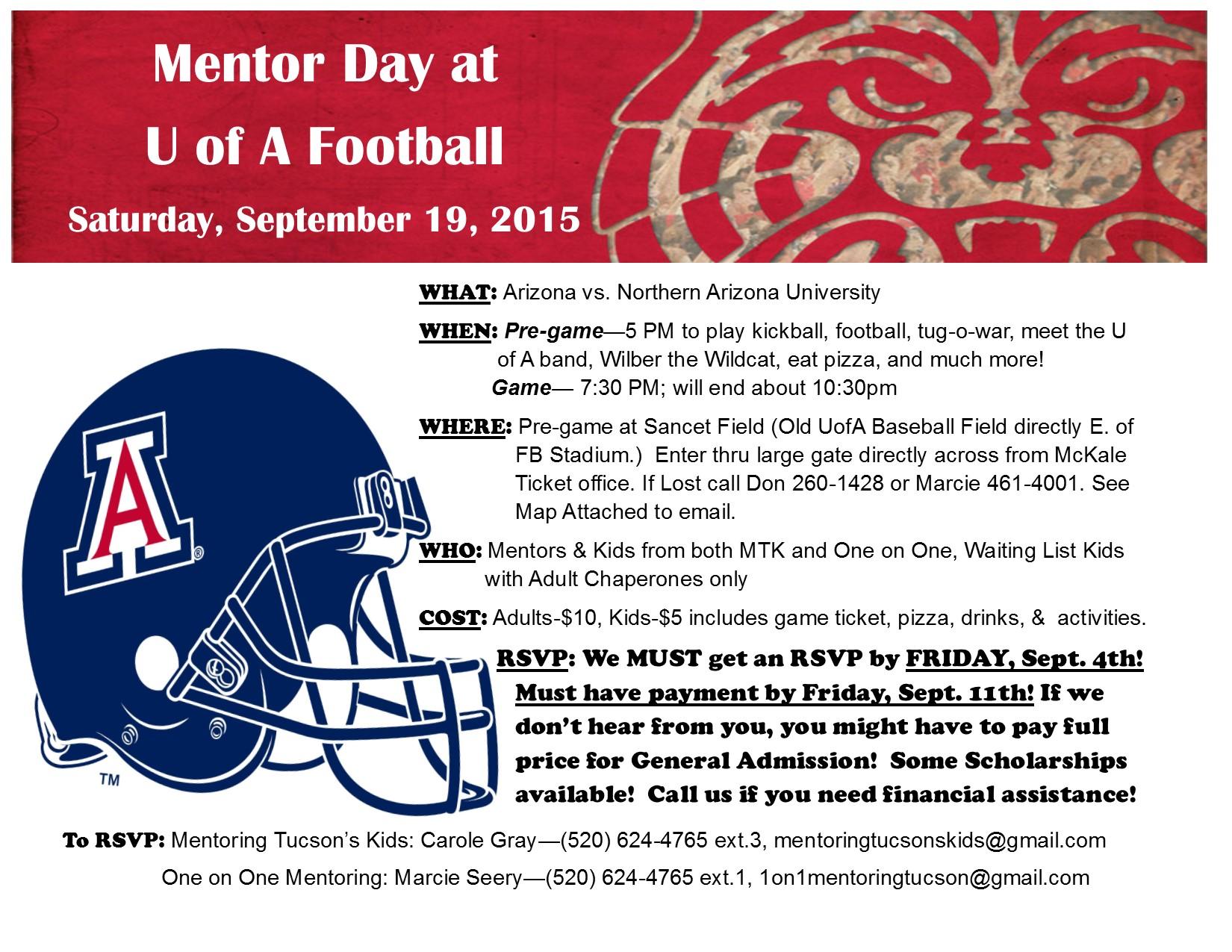 mentor day football 2015